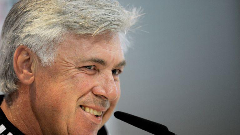 Анчелоти: Никога няма да съм треньор на Интер