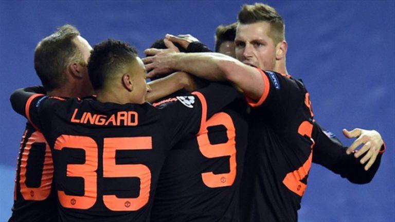 Марсиал отмъкна една важна точка за Юнайтед от гостуването в Москва (видео + галерия)