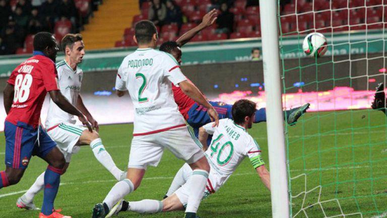 ЦСКА загуби точки в първия мач на Миланов като титуляр (видео)
