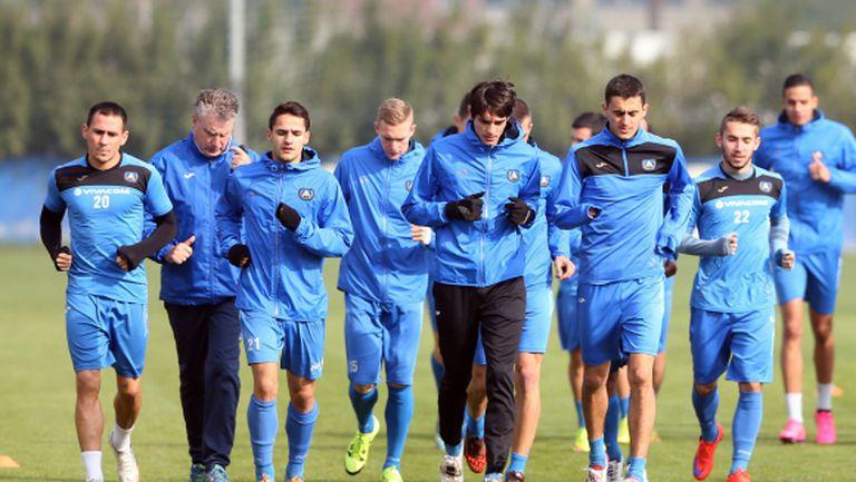 Групата на Левски за мача с Несебър