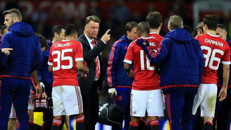 Ван Гаал се притесни от головата суша в Манчестър Юнайтед