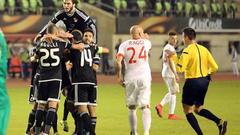 Монако се измъкна в Азербайджан и излезе първи (видео)
