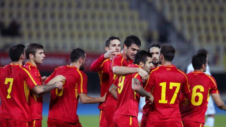 Македония разби Черна гора, съотборник на Чочев с хеттрик