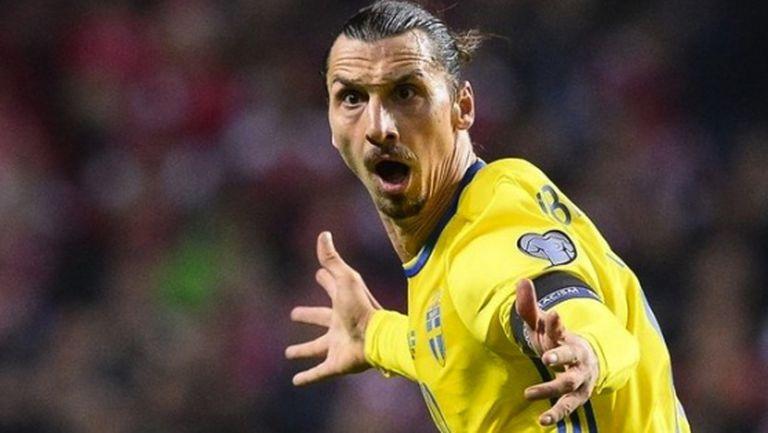 Ибра разплака Дания и класира Швеция на Евро 2016 (видео)