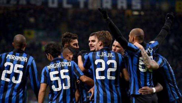 Интер оглави Серия А след бой над Фрозиноне