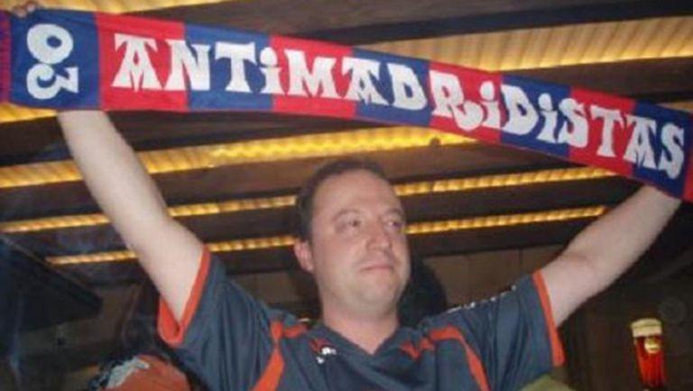 Бенитес се обявил за антимадридист (снимка)