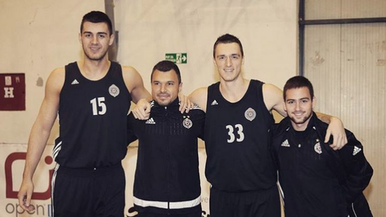 Божинов надъха баскетболистите на Партизан