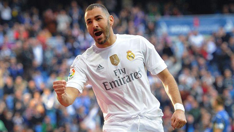 Реал Мадрид се развихри за едно полувреме (видео + галерия)