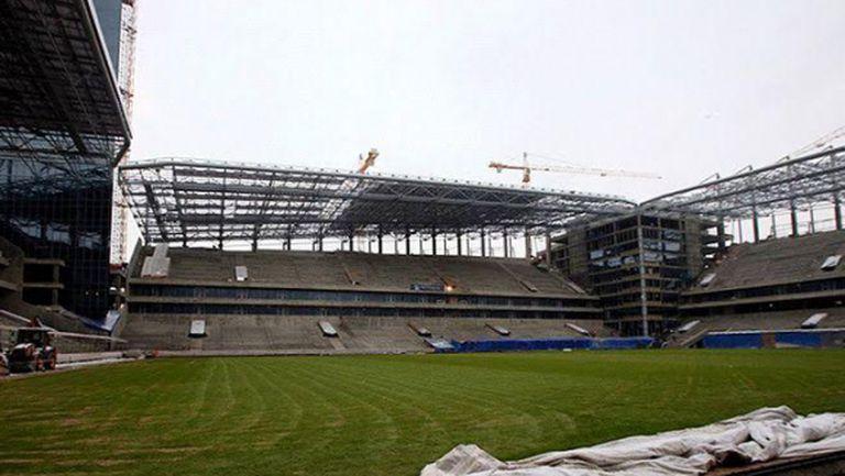 Новият стадион на ЦСКА (М) е почти готов, вече слагат седалки