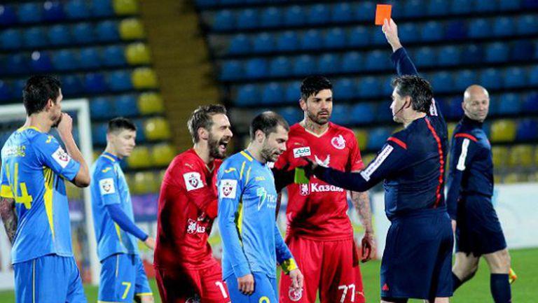 Благой Георгиев даде своята версия за червения картон