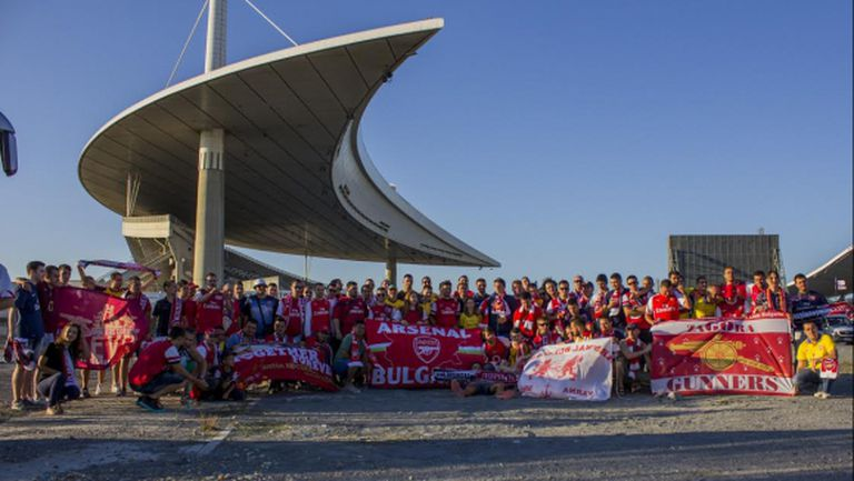 Сериозна българска подкрепа за Арсенал в Пирея