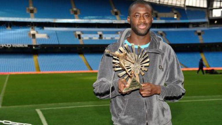 """Туре Яя за втори път стана най-добрият африкански футболист в класацията на """"Би Би Си"""""""
