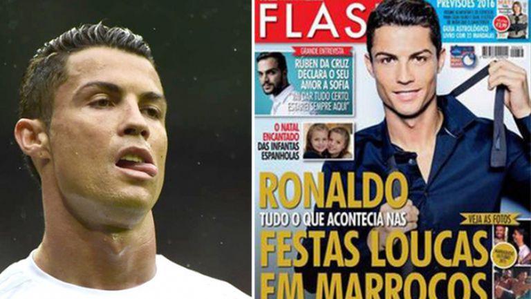 Роналдо продължава да ходи в Мароко