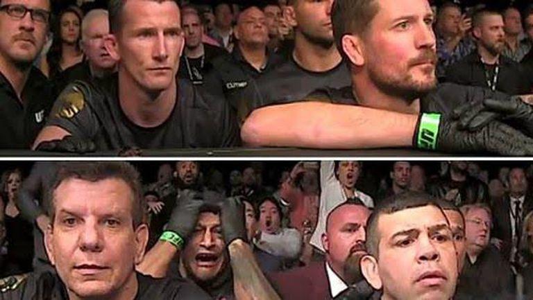 Вижте реакциите на отборите на Алдо и Макгрегър по време на UFC 194 (ВИДЕО)