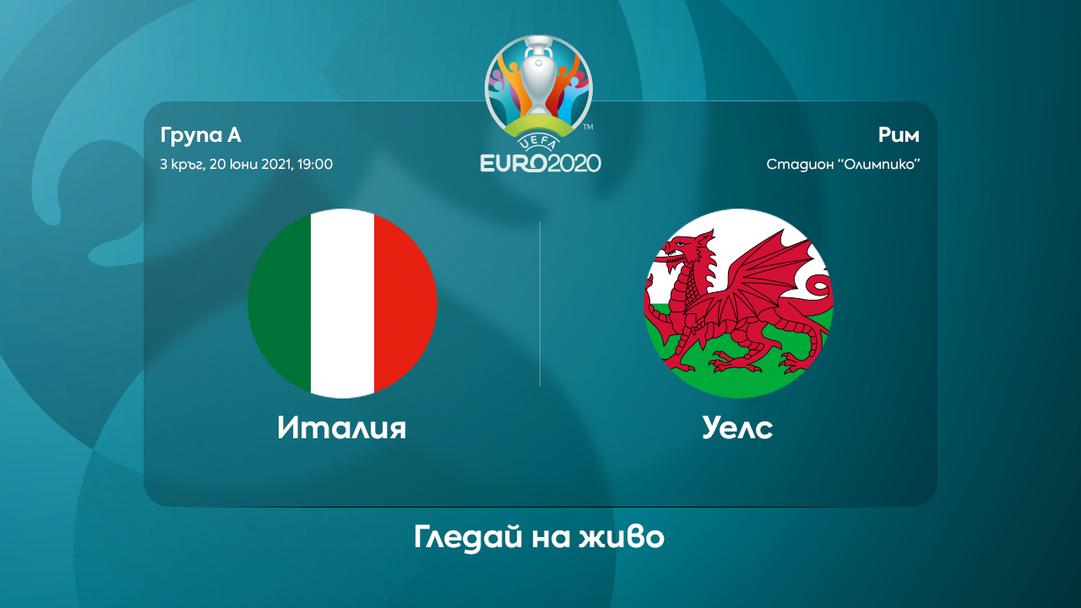"""Италия и Уелс в спор за първото място в група """"А"""""""