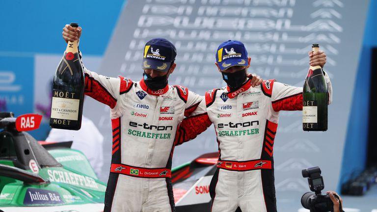 Административна грешка подари двойна победа на Audi във Формула Е