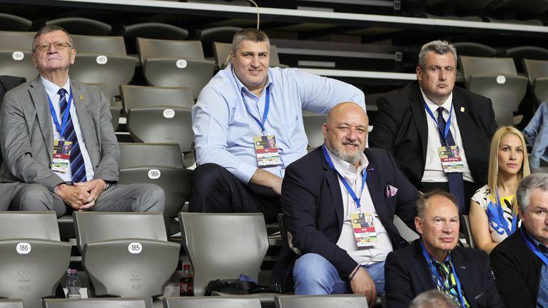 Посланикът на европейския волейбол Красен Кралев проведе работна среща с президента на CEV Александър Боричич