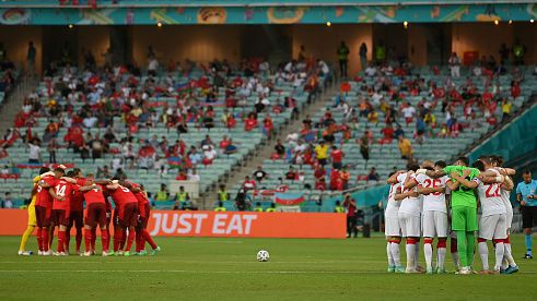 Шакири и Швейцария нанесоха трета загуба на Турция