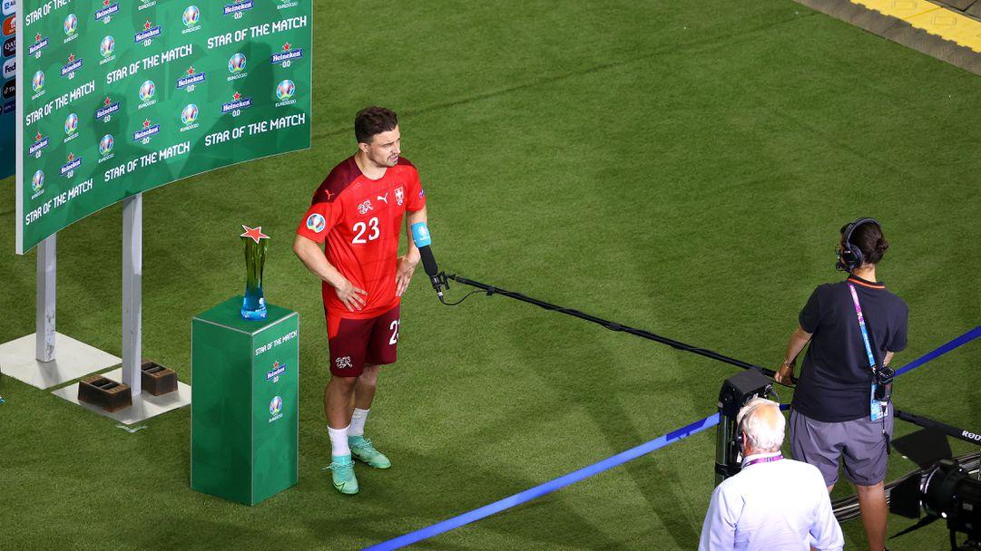 Шакири беше избран за Играч на мача Швейцария - Турция