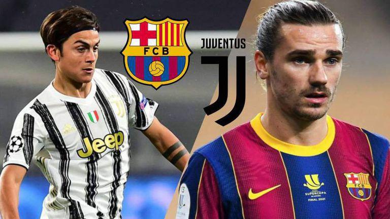 Барселона предлага на Ювентус размяна Гризман за Дибала