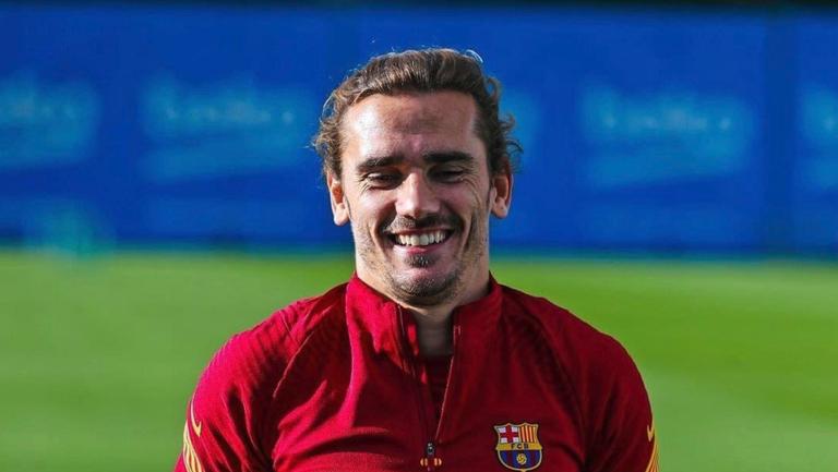 Гризман започна тренировки с Барселона