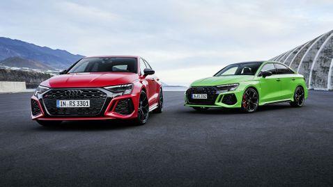 Audi представи брутално RS 3 с 400 кс