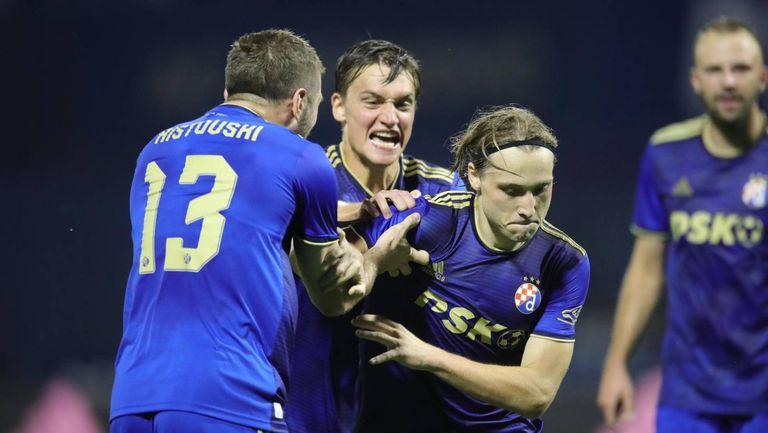 Динамо (Загреб) пречупи Омония през второто полувреме