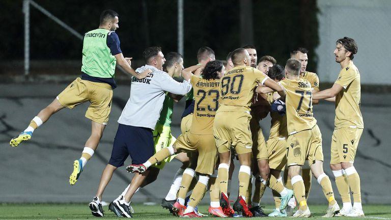 Кристиан Димитров помогна за драматична победа на Хайдук (видео)