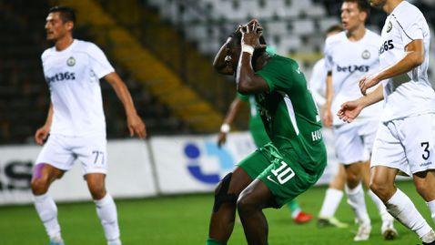 Лудогорец се провали срещу Славия и не успя да подобри рекорд на Левски