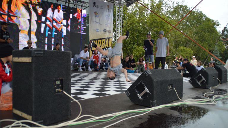 Брейк шоу стартира Ърбан зона с 30 активности в центъра на София