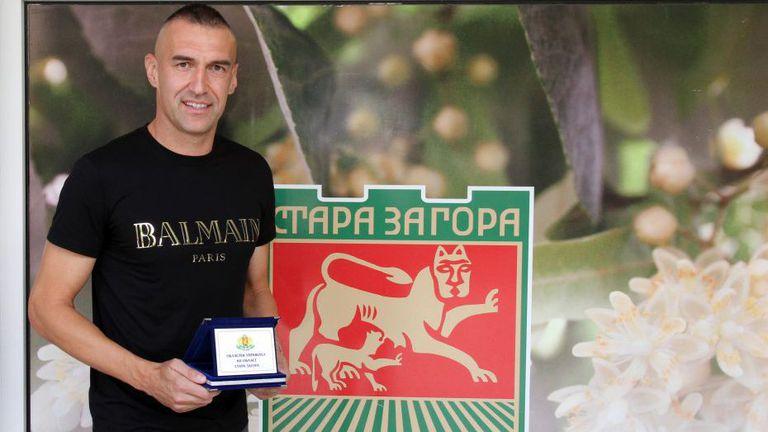 Камбуров получи Почетен знак от Областния управител на Стара Загора