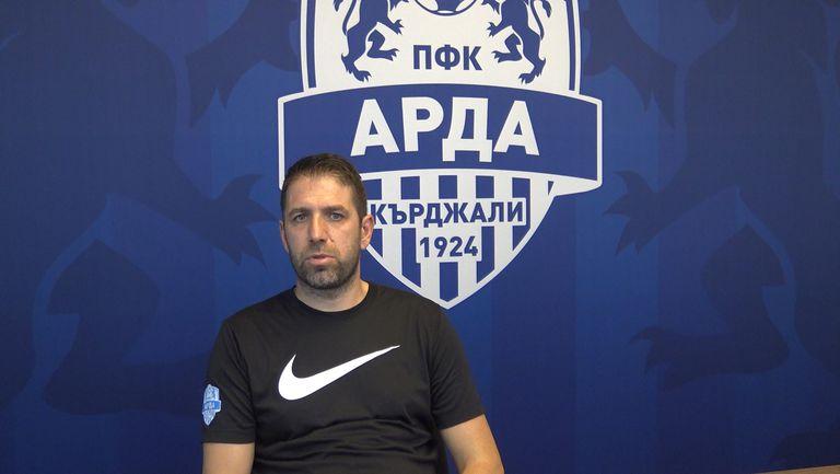 Чиликов: Доволен съм от това, което виждам в Арда