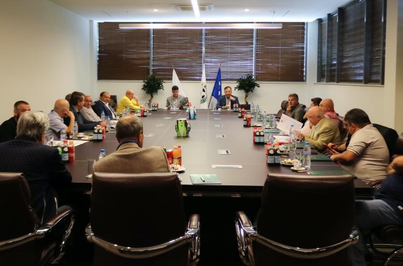 БФС, ПФЛ и АФЛ обсъдиха подготовката за предстоящия Конгрес