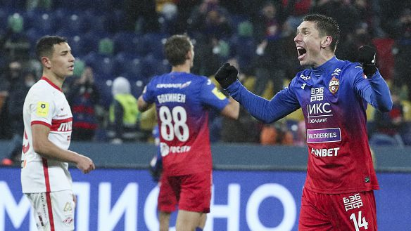 ЦСКА (Москва) спечели с 1:0 градското дерби със Спартак