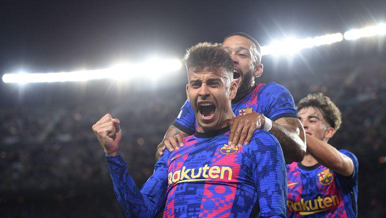 Барселона изкова първи точки в ШЛ, но изобщо не убеди