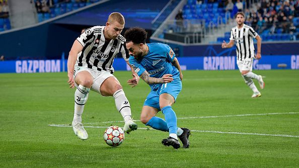 Безгрешната серия на Ювентус продължава след минимална победа над Зенит с 1:0 като гост