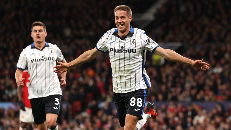 Манчестър Юнайтед 0:2 Аталанта, втори гол на италианците