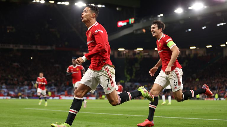 "Кристиано Роналдо отново герой на ""Олд Трафорд"", Юнайтед с обрат срещу Аталанта"