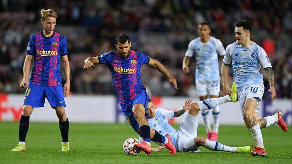 Трудна победа и първи точки за Барселона в групата
