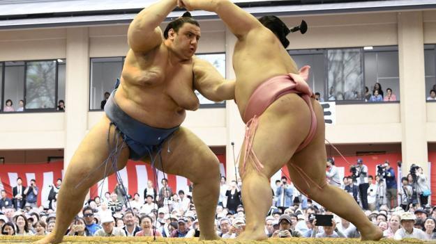 Даниел Иванов-Аоияма завърши със загуба на Големия есенен турнир по сумо в Токио