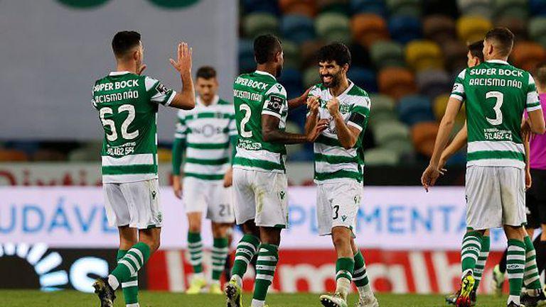 Спортинг с нова победа в Португалия, след като надви Гимараеш