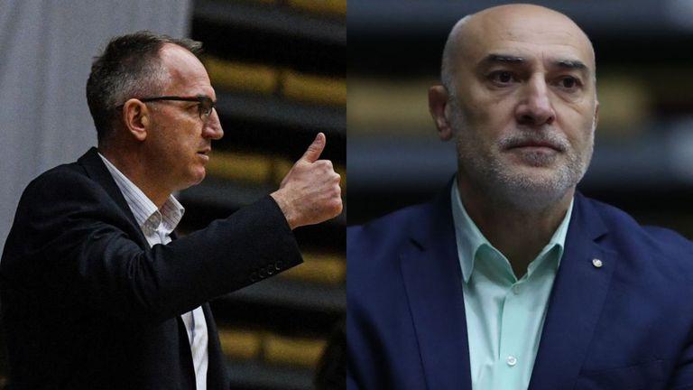 Блицът на Sportal.bg: Йовица Арсич vs. Любомир Минчев🏀