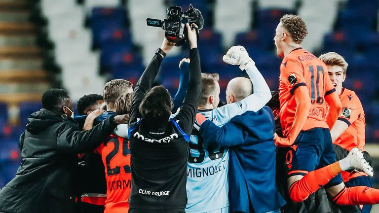 Брюж спечели титлата в Белгия