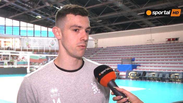 Аспарух Аспарухов пред Sportal.bg: Турнирът в Словения е един добър старт преди Лигата на нациите 🏐
