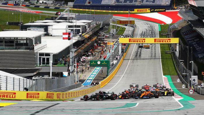 Пирели с различен избор на гуми за двете състезания в Австрия