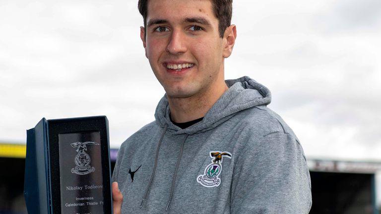 Николай Тодоров попадна в Отбора на сезона в Шотландия