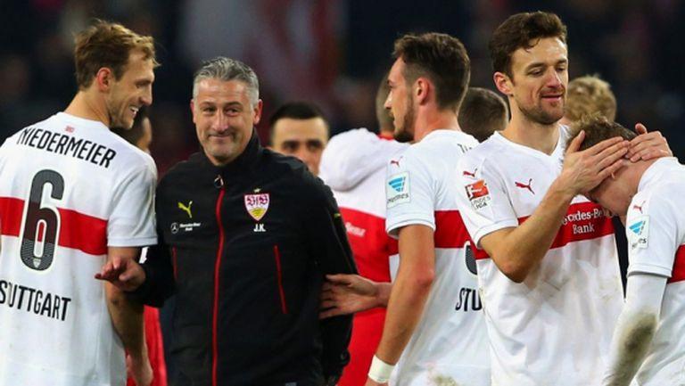 Треньорска новина и от Щутгарт