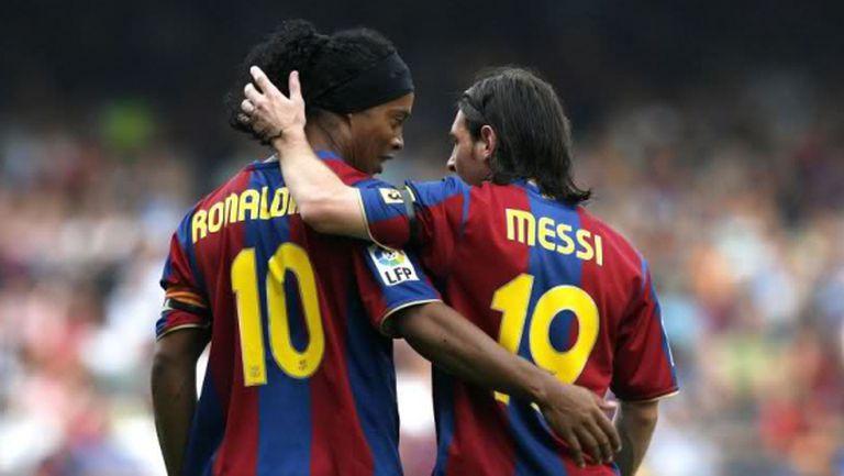 Меси: Роналдиньо ми каза да взема №10 в Барса (видео)