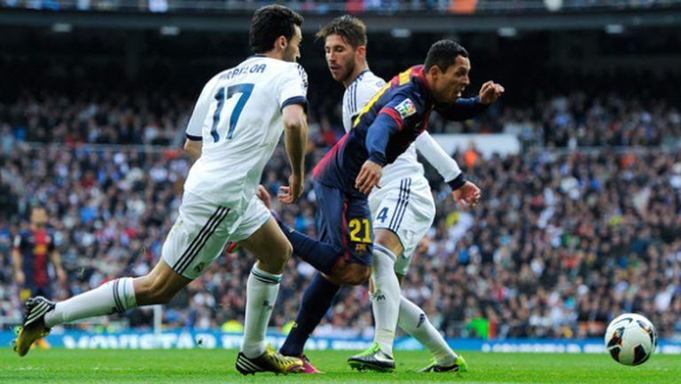 Рома избира между футболисти на Барса и Реал М