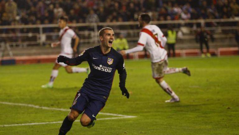 Атлетико пречупи Райо с късни голове (видео)